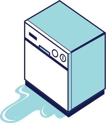 Protect your dishwasher with a home warranty today!