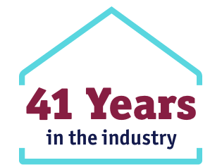 41 years in the industry